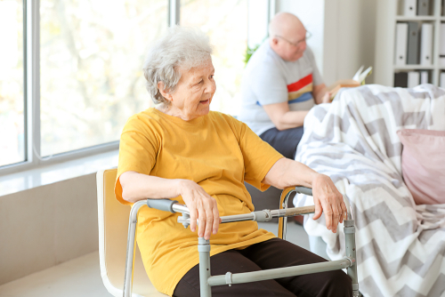 Seniors are more at risk for falling accidents. Physical therapy can help.