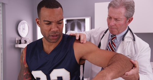 A local chiropractor can help treat sports injuries.